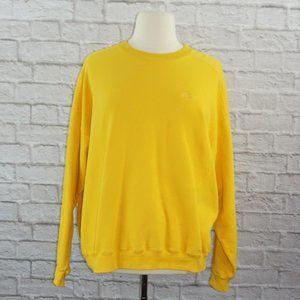 Vintage Starter 90s Yellow Pro80 XL Sweatshirt